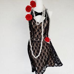 Little Lace Black Evening Dress